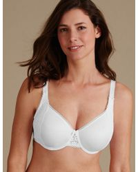 Marks & Spencer | Vintage Lace Minimiser Non Padded Full Cup Bra C-gg | Lyst