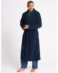 c9ac552153 Lyst - Brooks Brothers Golden Fleece Cashmere Robe in Black for Men