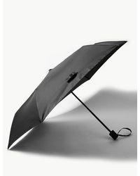 Marks & Spencer Briefcase Umbrella With Stormweartm & Windtechtm - Black
