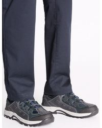 Marks & Spencer - Leather Ghillie Lace-up Trainers - Lyst