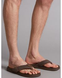 Marks and spencer flip flops