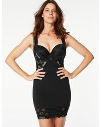 Marks & Spencer - Firm Control Smoothing Lace Full Slip - Lyst