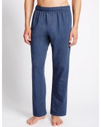 Marks & Spencer - Cotton Rich Joggers - Lyst