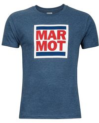 Marmot - Linear Tee Ss - Lyst