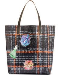 Marni - Tote Bag In Pvc With Alchemy Print By Frank Navin - Lyst