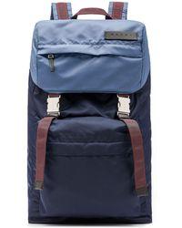 Marni - Bi-coloured Nylon Backpack - Lyst