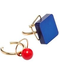 Marni - Resin And Metal Ring Set - Lyst