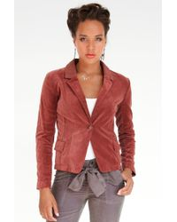 Marrakech - Galleria Velvet Blazer Jacket - Lyst