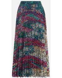 Mary Katrantzou - Uni Skirt Forest - Lyst