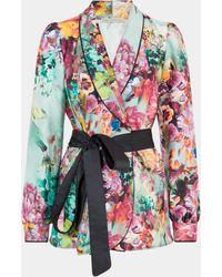 Mary Katrantzou Darcy Jacket Moody Floral - Multicolor