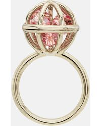 Mary Katrantzou - Nostalgia Sphere Ring Light Rose - Lyst