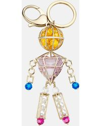 Mary Katrantzou - Nostalgia Key Charm Light Multi - Lyst