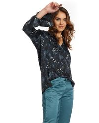 Mason's Filippa Woman Shirt In Viscose With Floreal Pattern - Multicolor