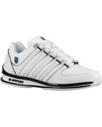 K-swiss K Swiss Rinzler Sp Classic Black White Trainers Shoes