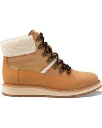 TOMS Mesa Waterproof Ankle Boot - Tan Suede - Brown