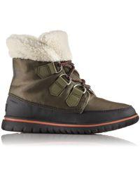 Sorel - Cosy Carnival Waterproof Ankle Boots - Lyst