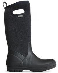 Bogs - Crandall Tall Wool Waterproof Wellies Boots - Lyst
