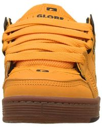 Globe Sabre Trainers Chunky Skate Shoes - Wheat Tobacco - Brown