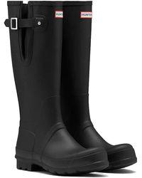 HUNTER Original Side Adjustable Boots - Black