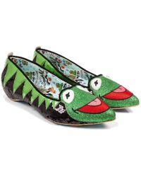 Irregular Choice - Kermit The Frog Muppets Ballerina Shoes - Lyst