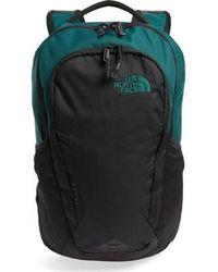 The North Face North Face Vault Backpack Rucksack Laptop Bag - Botanical Garden Green Tnf Black