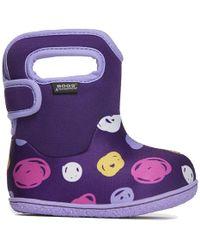 Bogs - Infants Baby Fur Lined Wellington Boots - Lyst