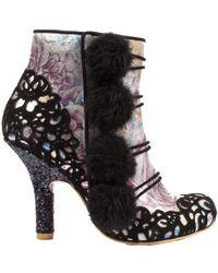 Irregular Choice - Slumber Party Boots Heels - Lyst