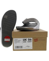 Fitflop - Crystall Toe Post Sandals - Lyst