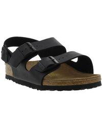 Birkenstock Milano Sandals Regular Fit - Black