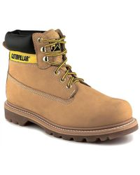Caterpillar Colorado Cat Wide Fit Ankle Boots - Multicolour