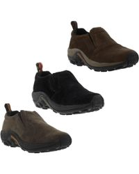 Merrell - Jungle Moc Leather Slip On Shoes - Lyst