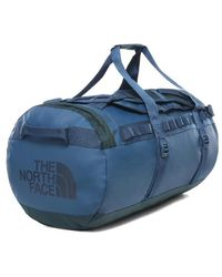 The North Face North Face Base Camp Duffel Travel Holdall Bag Size Medium - Blue Wing Teal Urban Navy