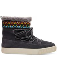 TOMS - Alpine Lace Up Boots - Lyst
