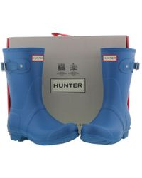 HUNTER - Original Short Wellington Boots - Lyst