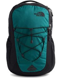 The North Face North Face Unisex Jester Backpack Rucksack Laptop Bag - Fanfare Green Tnf Black