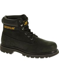 Caterpillar Colorado Cat Wide Fit Ankle Boots - Black