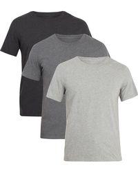 Maison Margiela   Set Of Three Cotton-jersey T-shirts   Lyst