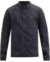 66 North Karsnes Zipped Lightweight Waterproof Jacket - Black