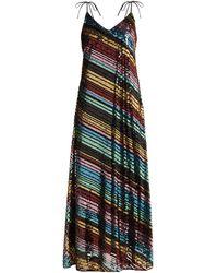 Athena Procopiou Dancing Rainbow Sequinned Dress - Multicolor