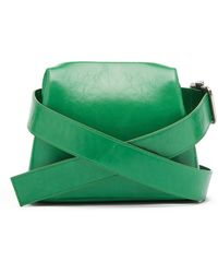 OSOI - Mini Brot Leather Cross-body Bag - Lyst