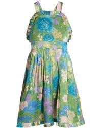 Balenciaga - Baby Doll Frill Dress - Lyst