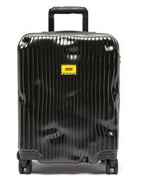 Crash Baggage ストライプ キャビンスーツケース 55cm - マルチカラー