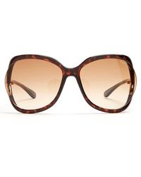Tom Ford - Stephanie Oversized Square-frame Sunglasses - Lyst