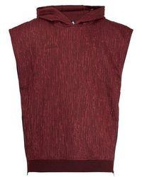 adidas Originals - - Hooded Sleeveless Sweatshirt - Mens - Burgundy - Lyst