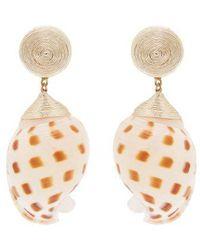 Rebecca de Ravenel - Ophelia Shell Earrings - Lyst