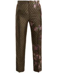 F.R.S For Restless Sleepers - Tartaro Floral-print Satin Pyjama Trousers - Lyst