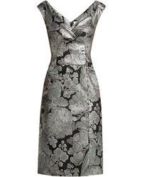 Erdem - Jyoti Floral Jacquard Midi Dress - Lyst