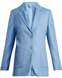 Max Mara - Two-button Patch-pocket Suit Jacket - Lyst