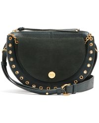 See By Chloé - Kiss Suede And Leather Shoulder Bag - Lyst