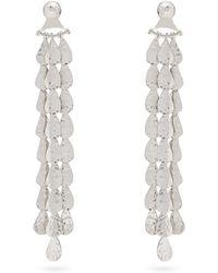 Sophia Kokosalaki - Luna Sterling-silver Earrings - Lyst
